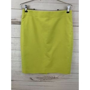 J Crew No 2 Pencil Skirt Size 6
